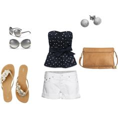 Summer Day,   created by kvb90 on Polyvore