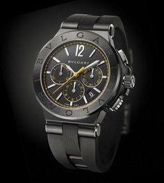 Bulgari - Diagono Ultranero Chronograph | Time and Watches