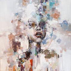 Oil on canvas, 100x100 cm. by @maria_alvarez_e Oil On Canvas, Painting, Artists, Painting Art, Paintings, Painted Canvas, Drawings