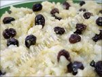 Arroz con Dulce (Rice Coconut Pudding) Traditional Puerto rican dessert
