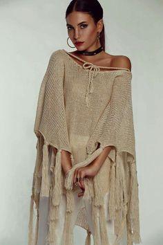 Diy Crochet And Knitting, Crochet Wool, Freeform Crochet, Crochet Cardigan, Crochet Shawl, Crochet Clothes, Corset Sewing Pattern, Pool Fashion, Paris Chic