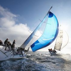 The competitive side of Sailing