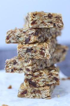 High Fiber Granola Bars // Fork in the Kitchen