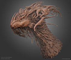 Tree Dragon, Arun Nagar on ArtStation at https://www.artstation.com/artwork/DOK30