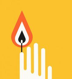 Hand candle Love Illustration, Pattern Art, Graphic Design, Fine Art, My Love, Logos, Candle, Craft, Handicraft