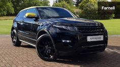 Land Rover Range Rover Evoque 2.2 Sd4 Special Edition 3Dr Auto Diesel Coupe Santorini Black, contrasting Sicillian Yellow roof and door mirrors
