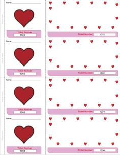 Valentine | Holiday's @ Mom's Break:This site has tons of free templates for everything.
