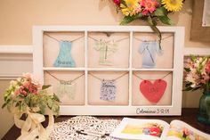 LOVE this idea to display Colossians 3: 12-14