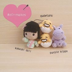 A customer ordered all of them! Going to Johor very soon! #amigurumi #crochet…