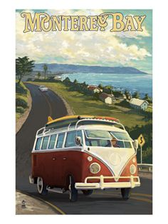 To travel by a California VW van. Al least, once in the life