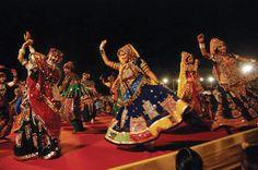 onzebem   A Magia e as Cores dos Festivais na Índia - NAVRATRI - O Festival das Nove Noites. (Foto: Wikimedia Commons)