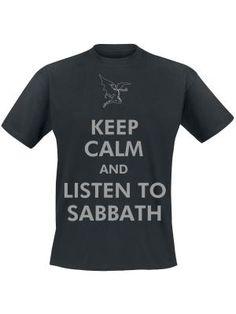 Keep Calm por Black Sabbath $19.99 en EMP... la mayor tienda online de Europa de Merchandising oficial de bandas de Metal, Hard Rock , Heavy, Ropa Gótica , Punk y todo lo que te hace falta para vivir el Rockstyle en toda su dimensión. EMP Rock Mailorder España