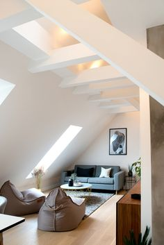 Kaja's Simple, Airy Oslo Loft — House Tour