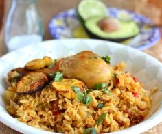 Colombian Arroz Atollado de Pollo y Chorizo (Creamy Rice with Chicken and Chorizo) - My Colombian Recipes Colombian Dishes, My Colombian Recipes, Colombian Food, Rice Recipes, Pasta Recipes, Chicken Recipes, Cooking Recipes, Chicken Soups, Chorizo