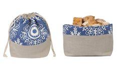 Bolsa para pan y panera, el 2 en 1 para conservar y servir el pan Couture, Quilling, Diy And Crafts, Purses, Jeans, Google, Bread Baskets, Bread Holder, Ideas
