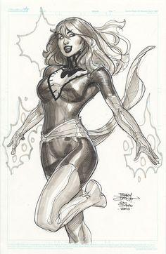 Phoenix/Jean Grey by Terry Dodson
