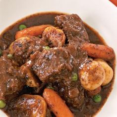 Best Slow-Cooker Soups and Stews | Slow-Cooker Recipe: Classic Beef Stew | MyRecipes.com