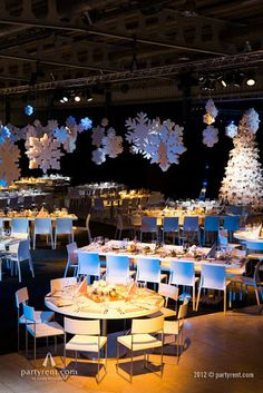 Kerstfeest Ernst & Young | Evenement verhuur door Party Rent