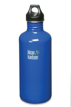 Klean Kanteen Stainless Steel Water Bottle with Poly Loop Cap 40Ounce Ocean Blue -- You can get additional details at the image link. Note:It is Affiliate Link to Amazon.