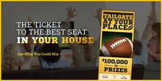 Tailgate at Your Place Instant Win Game