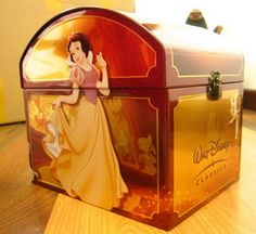 Disney 132 DVDs Collection chest I need this but it's probably like a million $$!!!!