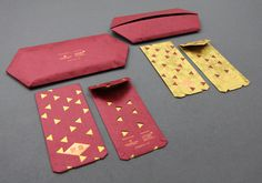 Antalis Singapore 2013 Red Packets by Ming Chew , via Behance