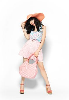 Make a statement with bold accessories in cute colors. #CarlyRaeJepsen #Candies #Kohls