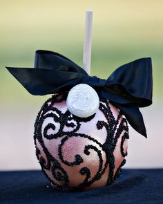 Decorated Caramel Apples