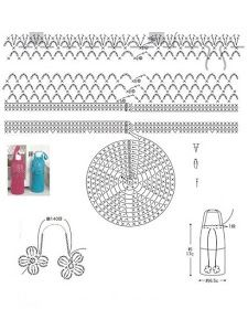 Mil Ideas en Crochet : Soporte de botella de agua de ganchillo con correa cruzada Ideas Hogar, Water Bottle Holders, Handmade Crafts, Crochet Patterns, Bags, Crochet Beach Bags, Made By Hands, Craft, Water Bottle Carrier