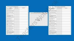 """3rd Grade Common Core Checklists and Records • 35 total pages • 5 pages of checklists • 30 pages of records. I took the third grade common core standards and turned them into student and teacher friendly """"I can"""" statements and used those to create these records.Checklists covers all CCSS. I made two types of records. One for tracking an individual student's progress and one for teachers."""