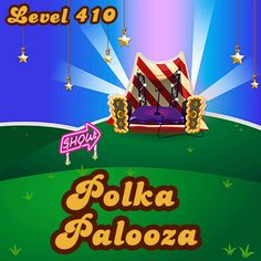 Candy Crush Level 410 has isolated time bombs that can't be reached without combos. A rock hard level. #candycrushsaga #candycrush #games