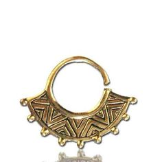 Septum Ring - Septum Jewelry - Septum Piercing - Septum Cuff - Indian Nose Ring - Indian Septum Ring - For Pierced Nose This gorgeous traditional septum is made of brass and decorated with small brass balls. For pierced nose. Can be worn on the ear as well. Nickel Free. $13.5🌑More Pins Like This One At FOSTERGINGER @ PINTEREST 🌑No Pin Limits🌑でこのようなピンがいっぱいになる🌑ピンの限界🌑