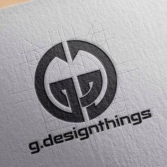 GD mark finally done! Draft process with a grid. Typography Logo, Graphic Design Typography, Art Logo, Branding Design, Lettering, Creative Logo, Logo Evolution, Logo Minimalista, Initials Logo
