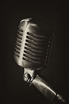 Old microphones, I feel will capture the essence of one's voice alot more sincere.