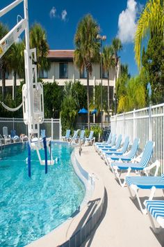 Universal Studios is just a drive from this vacation complex in Orlando, Florida. Dvd Players, Outdoor Pool, Outdoor Decor, Orlando Florida, Universal Studios, Tvs, Villas, Dryer, Washer