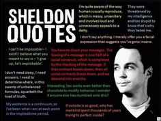 The Wisdom Of Sheldon