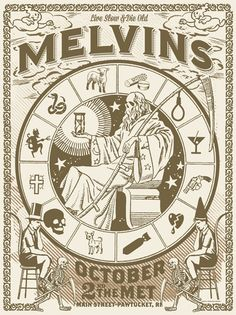 GigPosters.com - Melvins, The