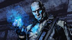 Wallpaper Infamous Character Bald Look Fingers Magic Download Image Wallpaper