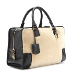 mytheresa.com - Amazona leather and shearling tote - monday - current week - new arrivals - Luxury Fashion for Women / Designer clothing, sh...