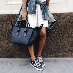 Nice looking Jean Jacket! Inspiration for the upcoming summer.  #summer #fashion #inspiration