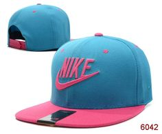 NIKE Snapback Hats adjustable Baseball Cap Hip-Hop Man/women Hats Blue/Pink 022