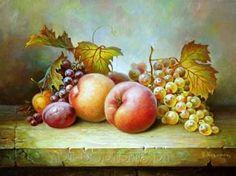 Resultado de imagen para Still life with fruits Still life with fruits by Igor Kazarin