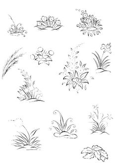 Cahide Keskiner - Minyatür Sanatında Doğa Çizim ve Boyama Teknikleri Yer bitkileri ve ayrıntıları