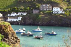 Port Isaac on the north Cornish coast