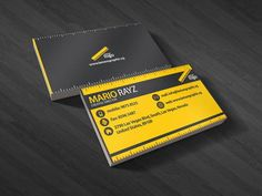 100 best 100 creative orangeyellow business cards for your showcase of 30 beautiful yellow business cards skytechgeek colourmoves