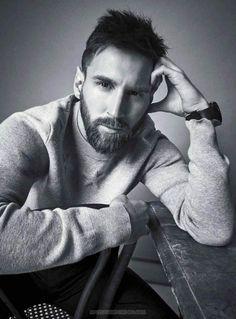 Leo Messi por Diego Merino para Esquire México