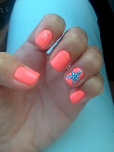 29 Special Summer Beach Nails Designs for Exceptional Look – The Best Nail Designs – Nail Polish Colors & Trends Summer Holiday Nails, Cute Summer Nails, Christmas Nails, Fun Nails, Summer Beach Nails, Summer Toenails, Spring Nails, Beach Vacation Nails, Pedicure Ideas Summer