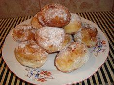 Gogosi (reteta bunicii) Cheesecake, Muffin, Cookies, Breakfast, Food, Crack Crackers, Morning Coffee, Cheesecakes, Biscuits