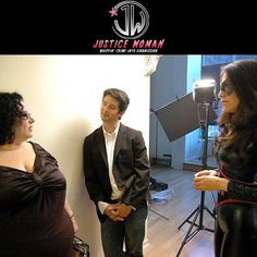 Vanessa Verduga behind the scenes chatting it up with the cast and crew of #JusticeWoman. 'Rolling' time.. Lights, Camera, Action!  Catch all the exciting Episodes of #JWSeries 👉 http://justicewoman.com/  #FF #TGIF #weekend #bts #webseries #webisode #seasonfinale #justice #superwoman #superheroes #vanessaverduga #latina #justiceserved #fightagainstcorruption #sofia #RT #comedy #drama #womanofjustice #law #crime #fight4justice #endofinjustice #lawyer