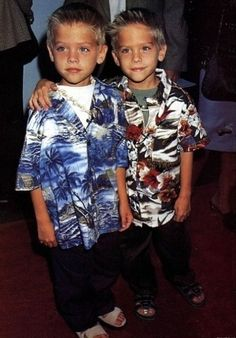 Dylan and Cole Sprouse babys